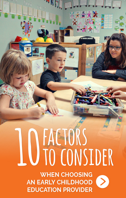 10 Factors to Consider When Choosing A Childcare Center